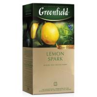 Чай Гринфилд лемон спарк цейлонский 25пак. 37,5г