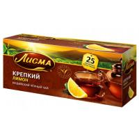 Чай Лисма индийский крепкий черный лимон 25пак