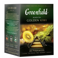 Чай Гринфилд голден киви 20пир. 36г