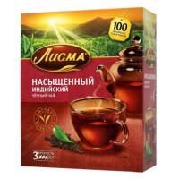 Чай Лисма индийский насыщенный 100пак. 180г