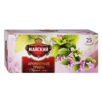 Чай Майский черный ароматные травы 25*1,5г
