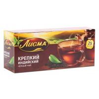 Чай Лисма индийский крепкий черный 25пак. 50г