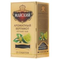 Чай Майский Ароматный бергамот 25*2шт