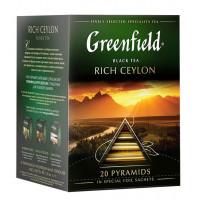 Чай Гринфилд рич цейлон черный 20*40г