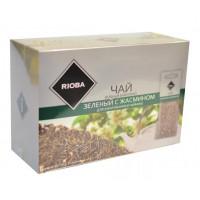 Чай Риоба зеленый с жасмином 20пак 100г