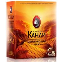 Чай Канди цейлонский черный 100пак. 200г