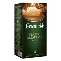 Чай Гринфилд классик брекфаст черный 25пак 50г