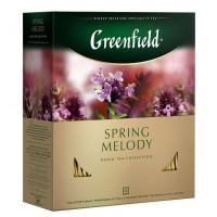 Чай Гринфилд спринг мелоди 100пак. 150г