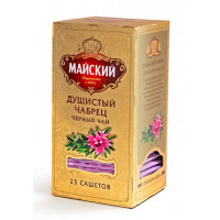 Чай Майский Душистый чабрец черный 25пак 50г