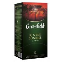 Чай Гринфилд кения санрайз 25пак. 50г