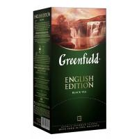 Чай Гринфилд Инглиш Эдишн 25пак. 50г