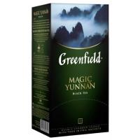 Чай Гринфилд меджик юньнань китайский черный 25пак. 50г