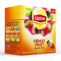 Чай Липтон лесные ягоды 20пак. 34г
