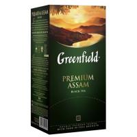 Чай Гринфилд премиум ассам индийский черный 25пак 50г
