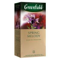 Чай Гринфилд спринг мелоди 25*1,5г