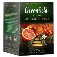 Чай Гринфилд Сицилиан цитрус 20пак. 36г
