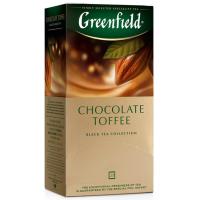 Чай Гринфилд шоколад тоффи 25пак 37,5г