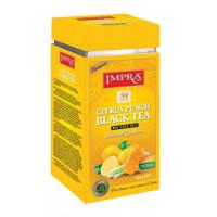 Чай Импра Цитрусовый пунш черный 200г ж/б