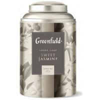 Чай Гринфилд Свит Жасмин зеленый 100г ж/б
