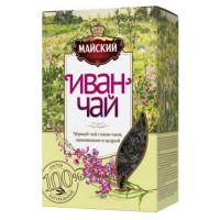 Чай Майский Иван-чай лимонник 75г
