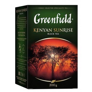 Чай Гринфилд кениан санрайз черный 200г