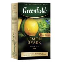 Чай Гринфилд лемон спарк 100г
