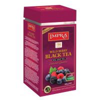 Чай Импра Лесные ягоды черный 200г ж/б