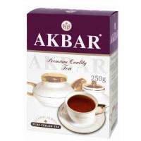 Чай Акбар классическая серия черный крупнолистовой 250г