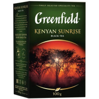 Чай Гринфилд кениан санрайз черный 100г