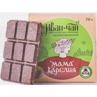 Чай Мама Карелия Иван-чай карельский крупнолистовой 70г прессованный