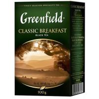 Чай Гринфилд классик брекфаст черный 100г
