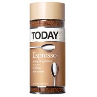Кофе Тудей эспрессо растворимый 95г