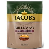 Кофе Якобс Монарх Милликано крема экспрессо в растворимом 75г