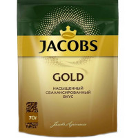 Кофе Якобс Голд 70г пакет