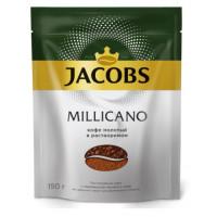 Кофе Якобс Монарх Милликано растворимый 150г пакет