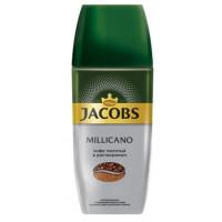 Кофе Якобс Монарх Милликано молотый в растворимом 95г ст/б