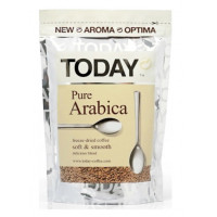 Кофе Тудей пюр арабика растворимый 75г пакет