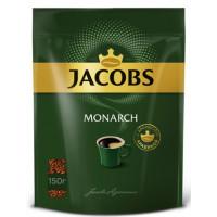 Кофе Якобс Монарх растворимый 150г пакет