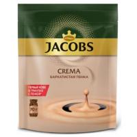 Кофе Якобс Монарх Крема растворимый 70г пакет