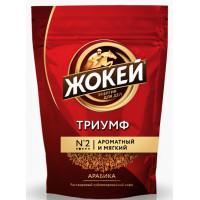 Кофе Жокей Триумф сублимированный растворимый 150г м/у