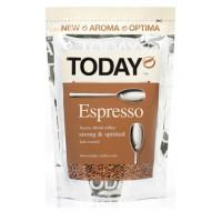 Кофе Тудей эспрессо растворимый 75г пакет