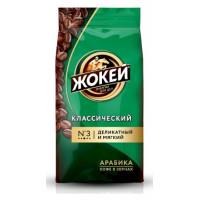 Кофе Жокей классический жареный в зернах 500г