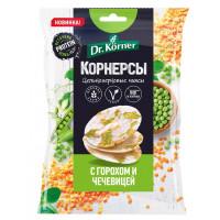 Корнерсы Д.Кернер кукурузно-рисовые с горошком и чечевицей 50г