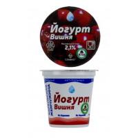 Йогурт Славмо вишня 2,1% 135г