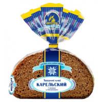 Хлеб Каравай Карельский заварной с изюмом и кориандром 290г нарезка