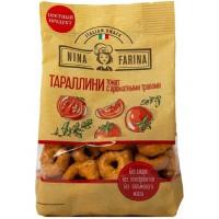 Тараллини Нина Фарина с томатом и ароматными травами 180г