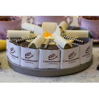 Торт Смольнинский ХлЗ шоколадно-банановый 1000г