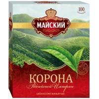 Чай Майский корона российской империи 100пак 200г