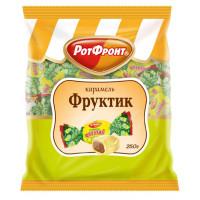 Карамель РотФронт Фруктик лимонный вкус 250г