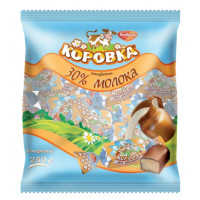 Конфеты РотФронт коровка 30% молока 250гр